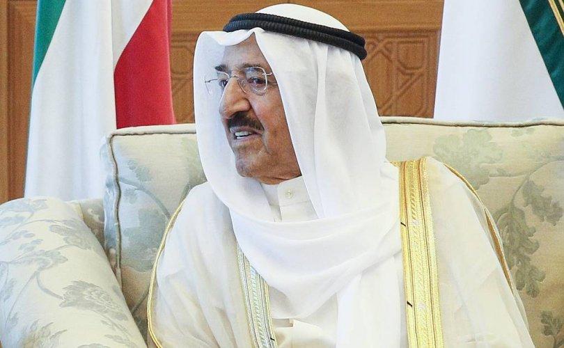 Кувейтийн эмир шейх Сабах таалал төгсчээ