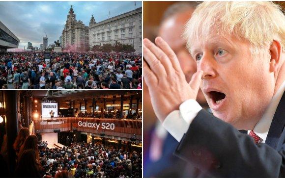 Их Британи: 6-аас дээш хүн нэг дор цугларахыг хориглов