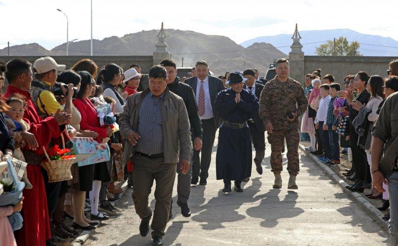 Монгол Улсын Ерөнхийлөгч Х.Баттулга Увс аймагт ажиллав