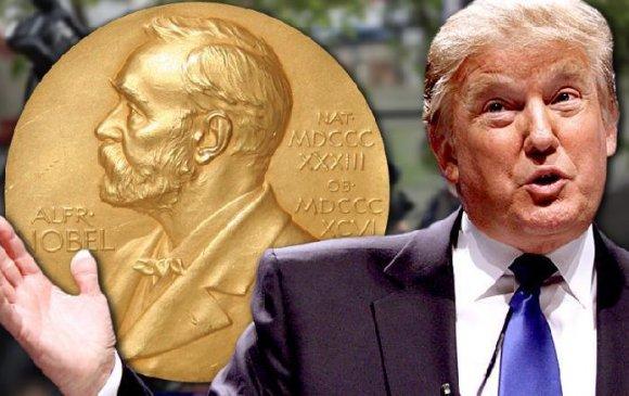 Трампыг Нобелийн энх тайвны шагналд нэр дэвшүүлжээ