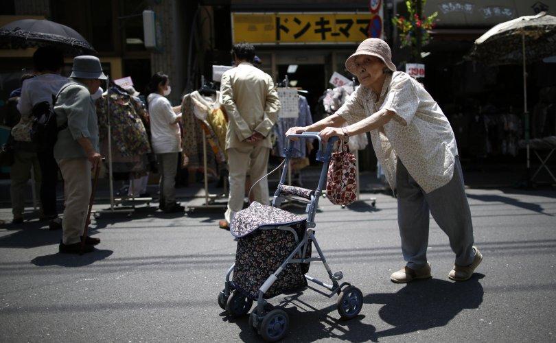 Японы өндөр настнуудын тоо хүн амынх нь 28,7 хувьтай тэнцэв