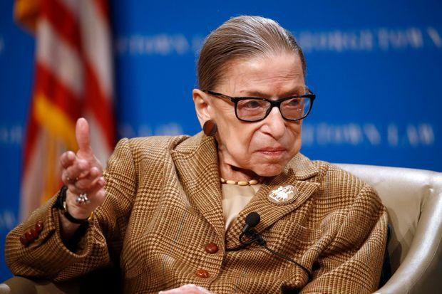 АНУ-ын дээд шүүхийн шүүгч Рут Бейдер Гинзбург таалал төгсчээ