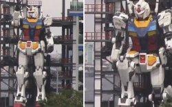 Аварга Гундам робот чадвараа үзүүлжээ