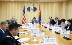 Монгол, Америкийн зөвлөлдөх уулзалт болов