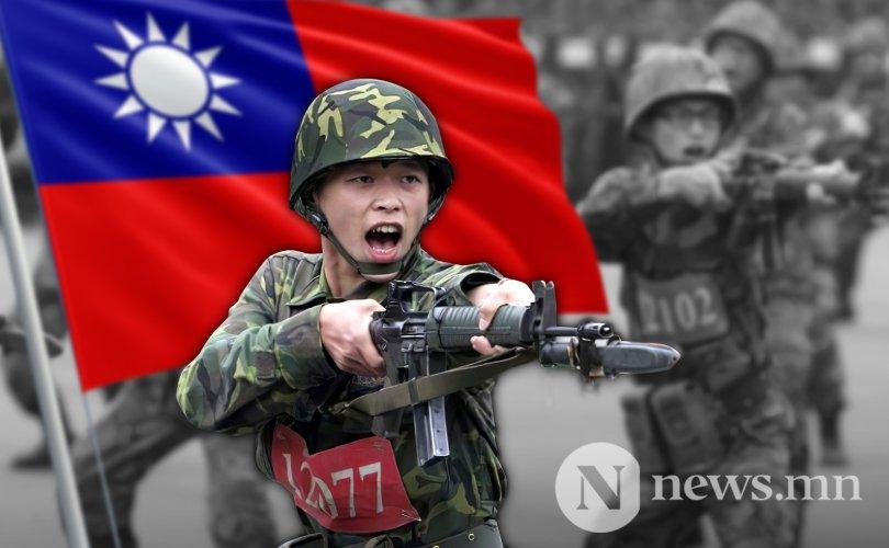 Тайвань дайнд бэлдэж байна