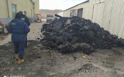 Гурван ААН-ийн 30 орчим тонн нүүрсийг битүүмжилжээ