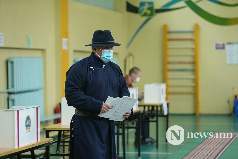 сонгууль Монгол Улсын Ерөнхийлөгч Х. Баттулга (12)