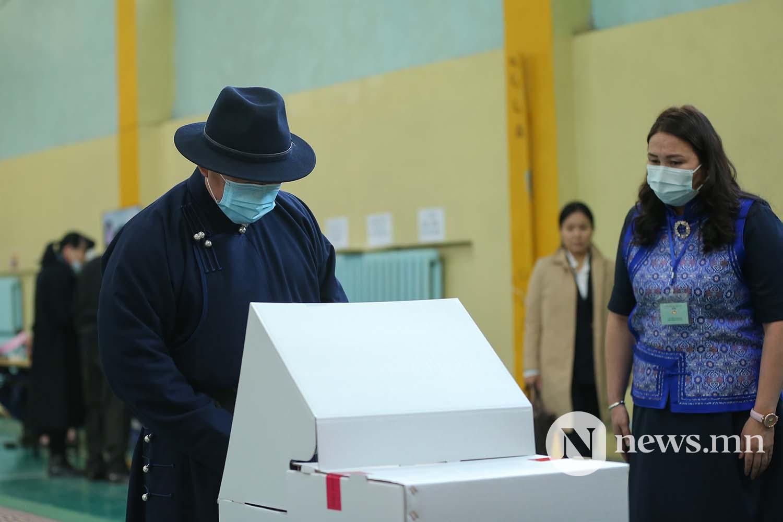 сонгууль Монгол Улсын Ерөнхийлөгч Х. Баттулга (14)