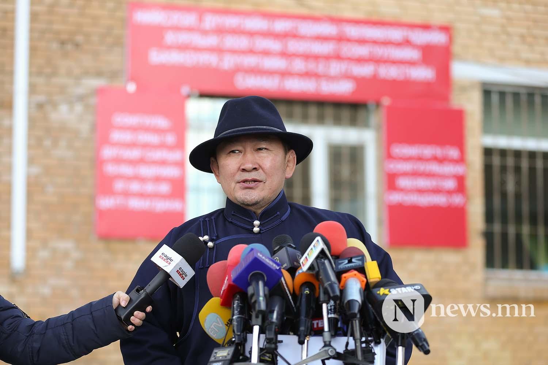 сонгууль Монгол Улсын Ерөнхийлөгч Х. Баттулга (21)