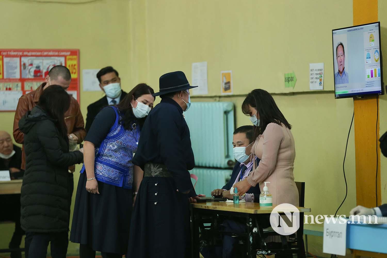 сонгууль Монгол Улсын Ерөнхийлөгч Х. Баттулга (3)