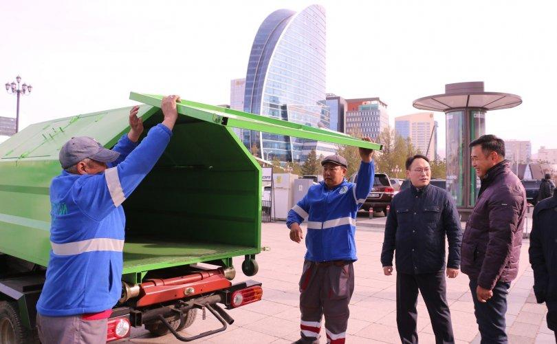 """""""Монгол инженерүүдийн бүтээл хог хаягдлын менежментэд хувь нэмрээ оруулж байна"""""""