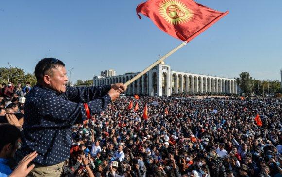 Киргизстанд төр эргэх салхи босов