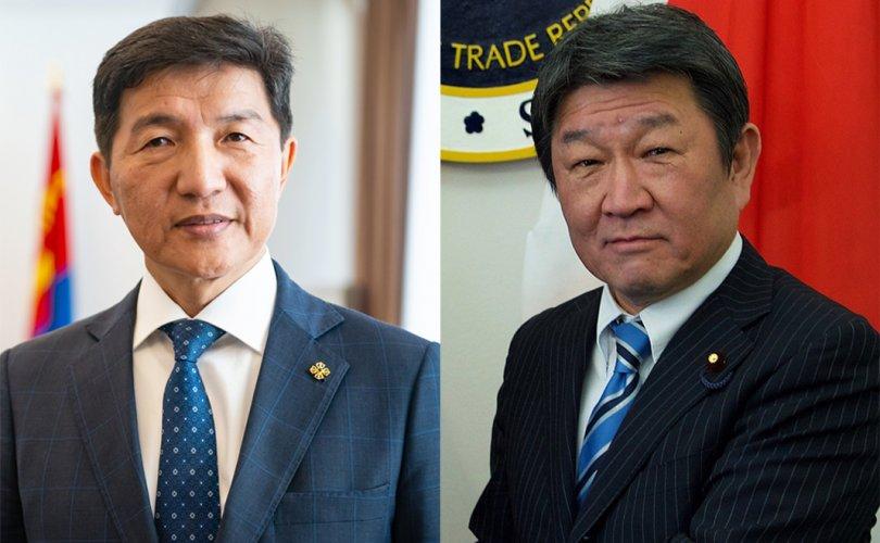 Японы Гадаад хэргийн сайд Монгол улсад айлчилна
