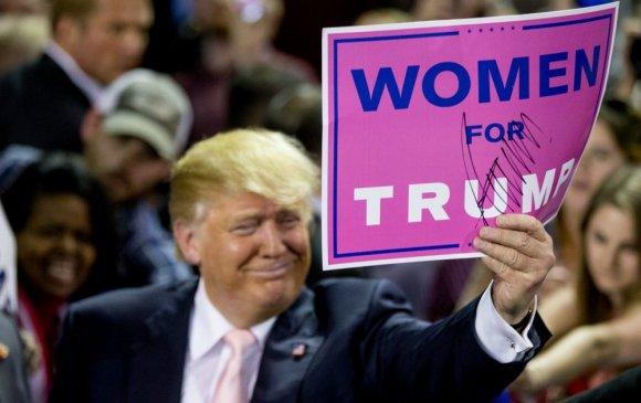 """Трамп эмэгтэйчүүдийн саналыг авч """"чадахгүй"""""""