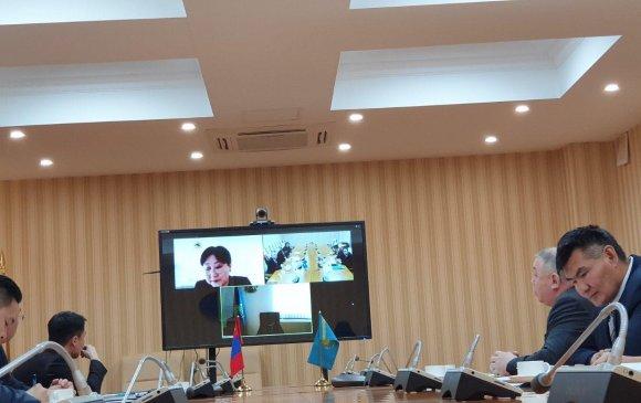 Монгол, Казахстаны ГХЯ-д хоорондын зөвлөлдөх уулзалт болов