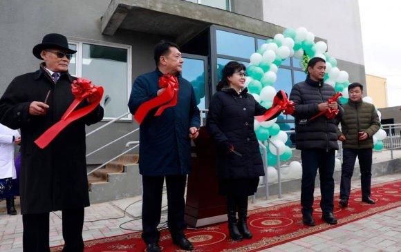 Туул тосгоны эрүүл мэндийн төвийн шинэ барилга ашиглалтад орлоо