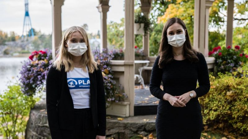 Өсвөр насны охин Финландын Засгийн газрыг нэг өдөр тэргүүлнэ