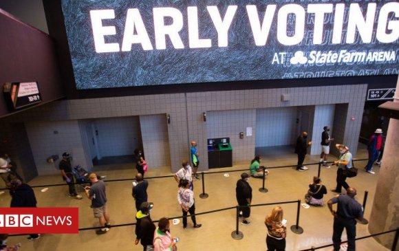 Америкчууд ерөнхийлөгчийн сонгуулиа урьдчилж өгөв