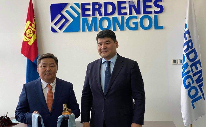 """""""Эрдэнэс Монгол""""-ын захирлаар Д.Хаянхярвааг томиллоо"""