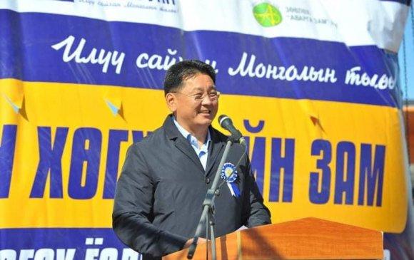 Баянхонгор-Алтай чиглэлийн 126.7 км авто зам ашиглалтад орлоо