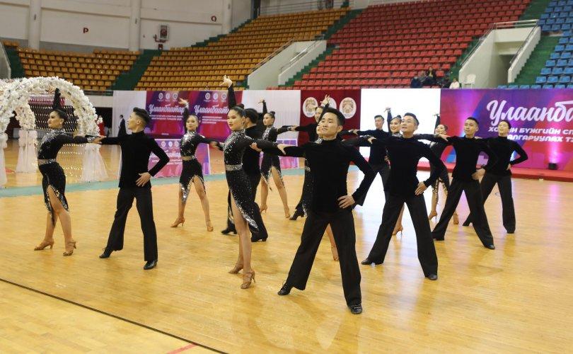 Улаанбаатар хотын бүжгийн спортын аварга шалгаруулах тэмцээн боллоо