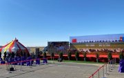 Хятадад бэлэглэсэн 30 мянган хонины эхний 4000-г хүлээлгэн өгөх ёслол боллоо