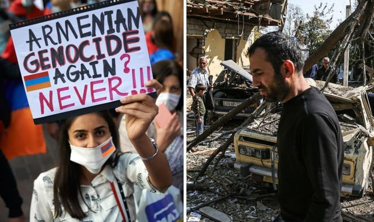 Азербайжан, Армени гал зогсоох тохиролцоонд хүрэв
