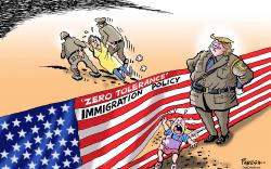 Трамп АНУ-ыг дүрвэгч, цагаачдаас цэвэрлэнэ
