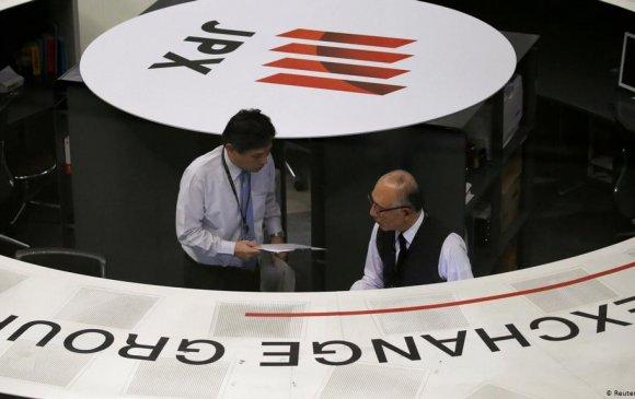Токиогийн хөрөнгийн бирж бүтэн өдрийн арилжаагаа цуцлав