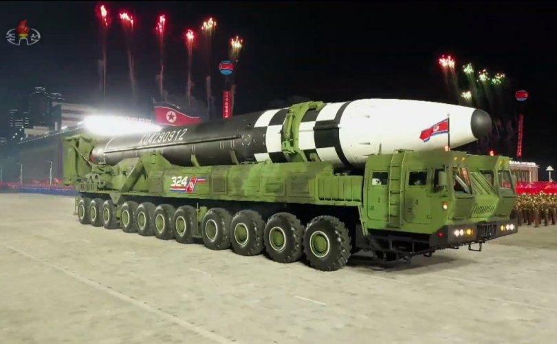 БНАСАУ шинэ баллистик пуужин танилцууллаа