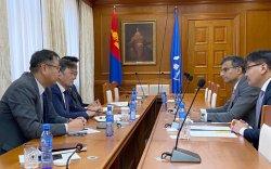 Монголбанкны ерөнхийлөгч АХБ-ны Монгол Улс дахь суурин төлөөлөгчийг хүлээн авч уулзлаа
