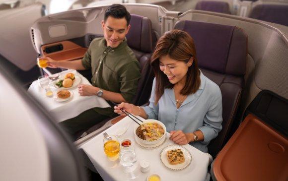 Сингапурт нисэх онгоцыг ресторан болгон ашиглаж байна
