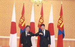 Японы Гадаад хэргийн сайд Т.Мотэгигийн айлчлал амжилттай өндөрлөв