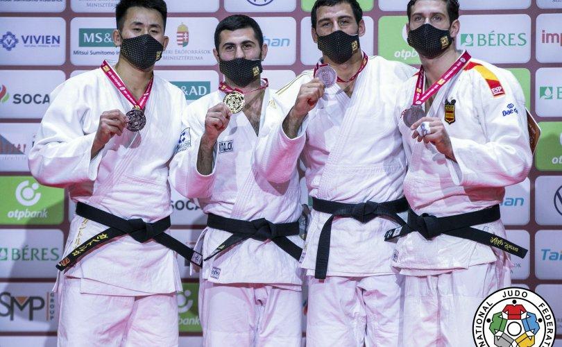 Монголын жүдочид Будапештад гурван медаль хүртлээ