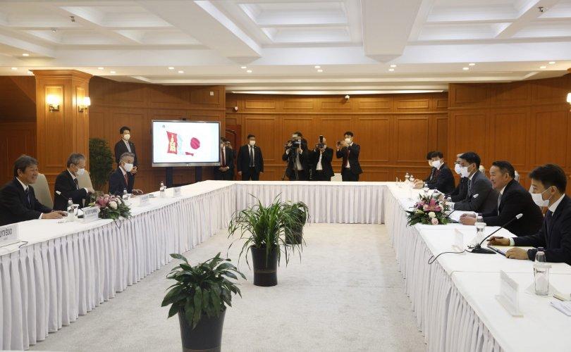 Японы Гадаад хэргийн сайд Монгол Улсын Ерөнхийлөгчид бараалхлаа