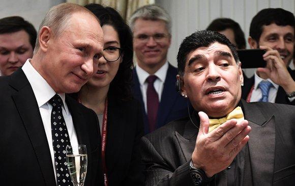 Марадона: Путинд итгэж байна