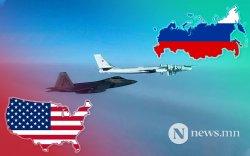 АНУ-ын сөнөөгч онгоцууд Аляскад ОХУ-ын бөмбөгдөгчдийг саатуулав