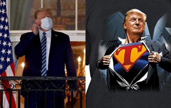 """Трамп эмнэлгээс гарахдаа """"супермэний үзүүлбэр"""" үзүүлэх гэж байжээ"""