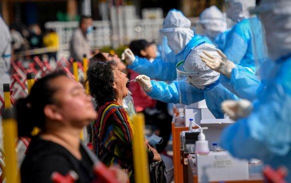 Хятадад олон хоногийн баярын дараа халдвар дахин эрчимжив