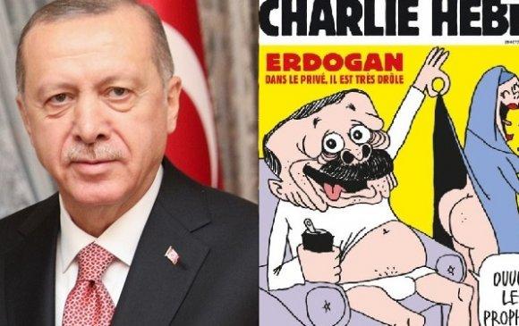 Францын сэтгүүл Эрдоганы шог зургийг нийтэлжээ