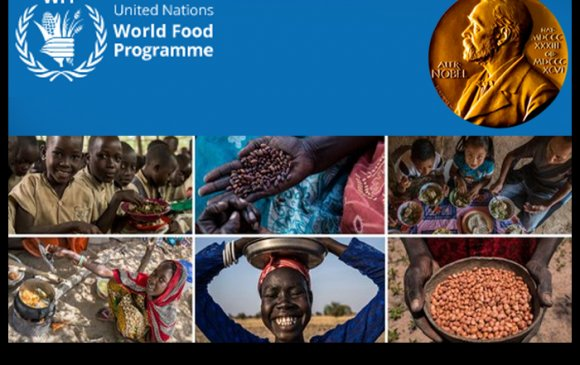 НҮБ-ын Дэлхийн хүнсний хөтөлбөр Нобелийн энх тайвны шагнал хүртлээ