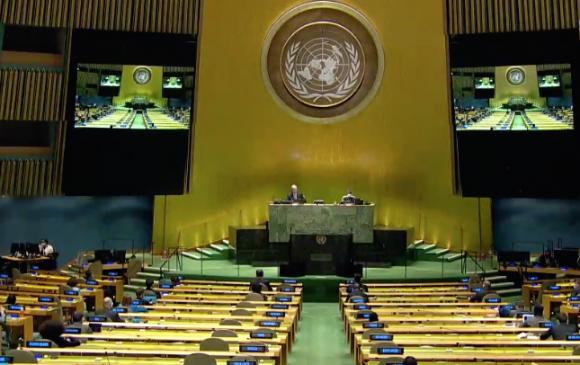 Цөмийн зэвсгийг бүрэн устгах асуудлаарх өндөр түвшний уулзалтад үг хэлэв