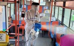 Нийтийн тээврийн 730 автобусыг ариутгажээ
