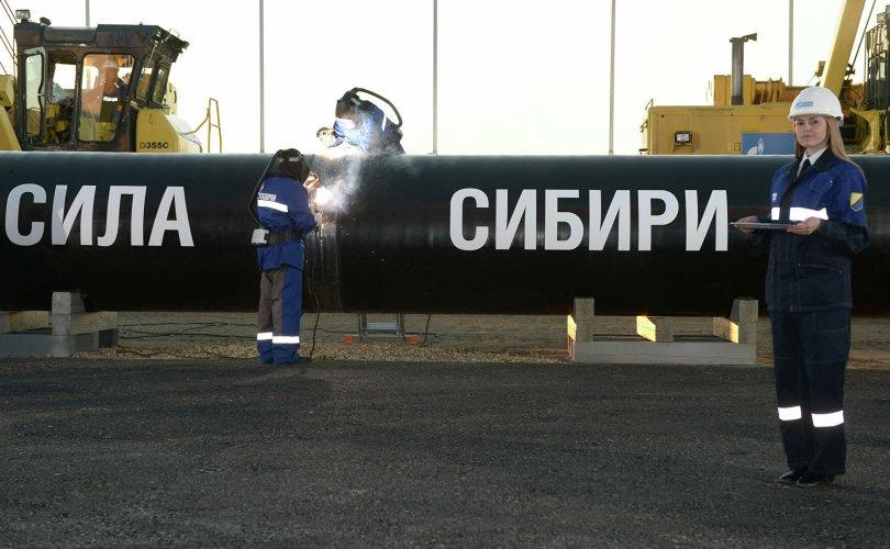 """""""Газпром"""" компани """"Сибирийн хүч"""" төслийн ажлаа сэргээлээ"""