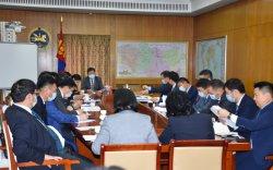 Монгол, Хятадын Засгийн газар хоорондын комиссын хуралдаан боллоо