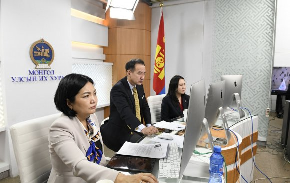 ОУПХ-ны Удирдах зөвлөлийн 206-р цахим хуралдаанд УИХ-ын гишүүд оролцож байна