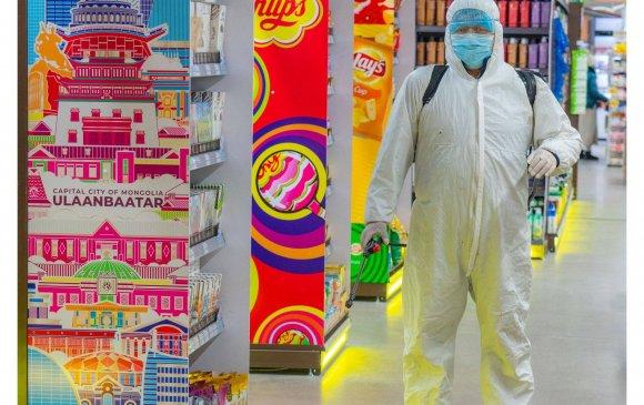 Номин сүлжээ дэлгүүрүүд тогтмол ариутгал, халдваргүйжүүлэлт хийж байна