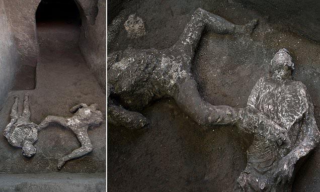 Помпей хотын балгаснаас боол, эзэн хоёрын цогцос олджээ