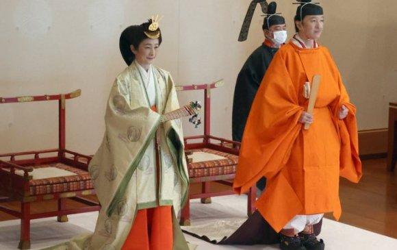 Хунтайж Акишиног хаан ширээ залгамжлагчаар тунхаглах ёслол боллоо