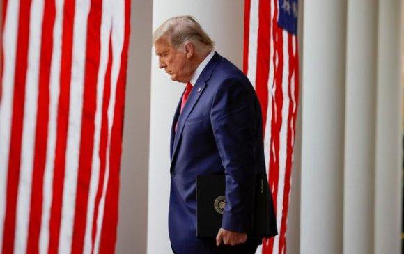 Трамп Цагаан ордноос явах талаар анх удаа ам нээв